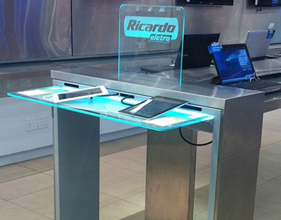Stainless Steel Display Table