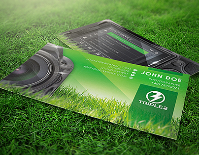 Creative Photography Business Card Design Template
