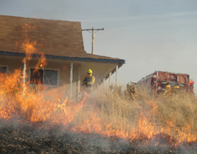 Defending Homes Against Wildfire (Work in Progress)