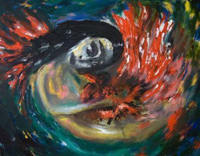 Fire Bird - Painting
