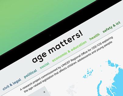 Age Matters!