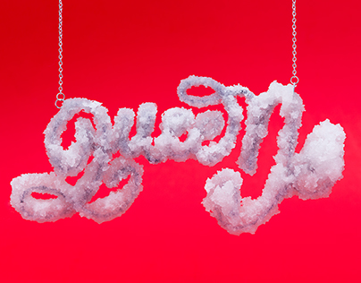 Sticky Trap: Fashion Food Type (collab + Nick Fancher)