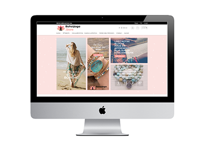 Site Web e-commerce BohoYoga.store