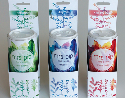 Mrs Pip - Herb Seed Shakers