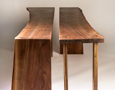 Eastern Black Walnut Tables