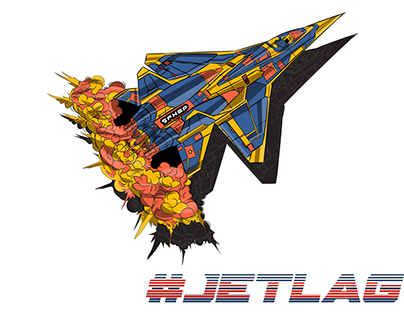 I like jets but I get jet lag so it's called jetlag =))