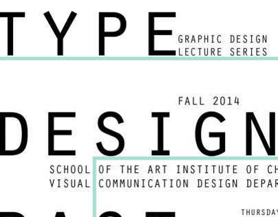 Intermediate Typography: Artist Lecture Series Posters
