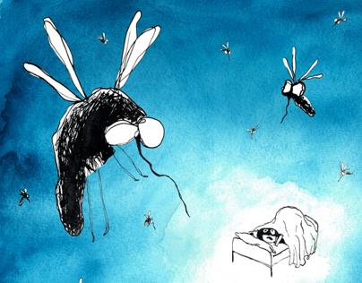 mosquitos postcards