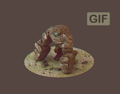 3d Game Character .GIF