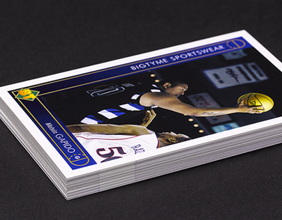 Basketball Card Business Cards
