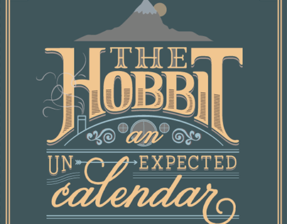 The Hobbit Calendar