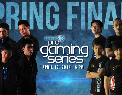 Pro Gaming Series 2014 Spring Finals Banners