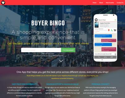 BuyerBingo - Web Application