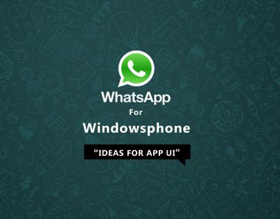 Whatsapp for Windowsphone
