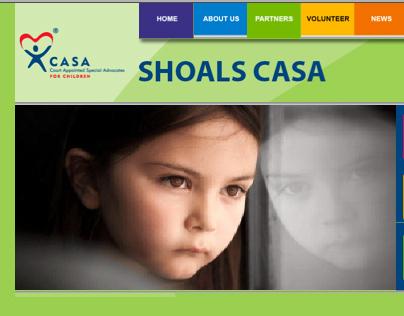 Shoals CASA Website