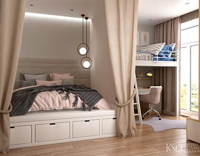 KSD-project. Design for smart-apartment