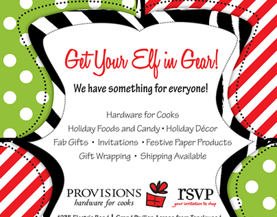Provisions/RSVP ad