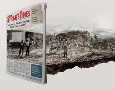 New Sraits Times 'A Deeper Perspective' Campaign