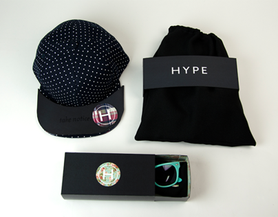 Hype Product Packaging