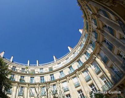 Parisian courtyards