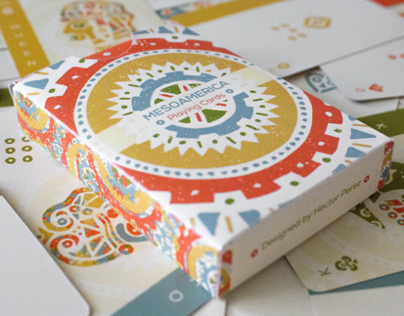 Mesoamerica Playing Cards