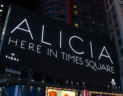Alicia Keys Here in Times Square