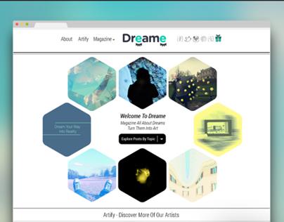 Dreame Website