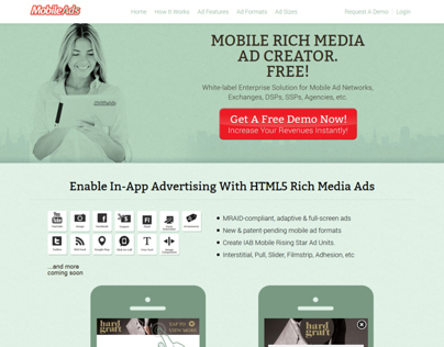 Mobileads.com Website