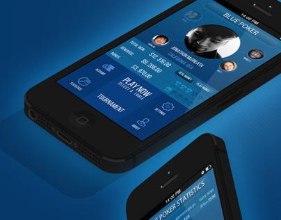 BluePoker Mobile App