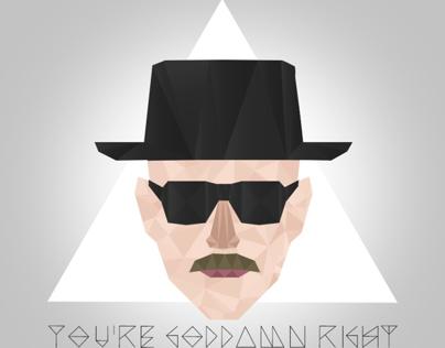 Heisenberg Triangle T-shirt