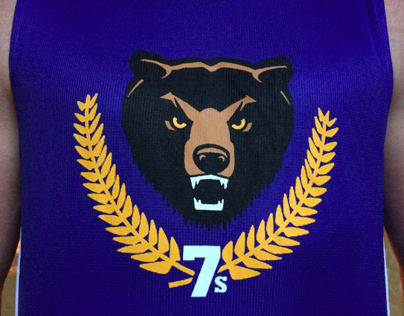 East Bay Blues  – rugby club logo + branding