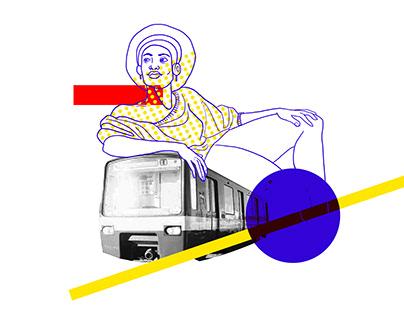 Illustration pour affiche concours MTL
