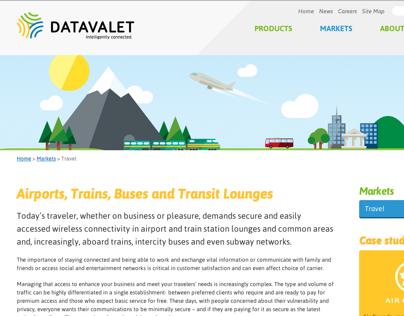 Datavalet – Site web