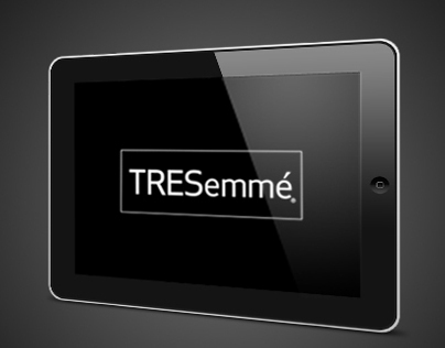 TRESemmé Style Setters iAd & TV Microsite