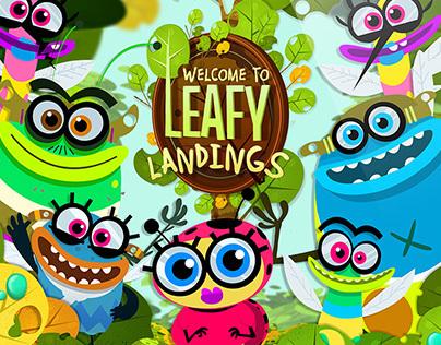 Leafy Landings UI