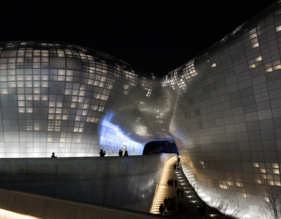 Dongdaemoon Design Plaza-Zaha Hadid(2008,DD~CD stage)