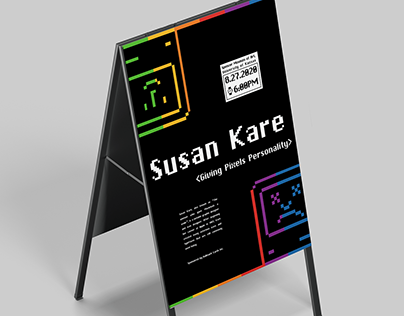 Susan Kare Guest Lecture Poster