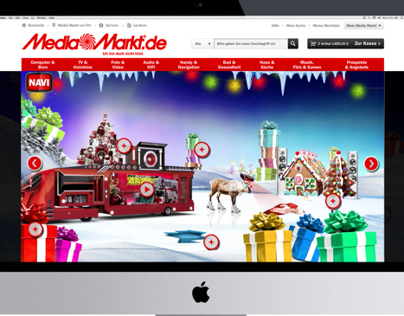 Media Markt Online - Interactive Campaign Makeover