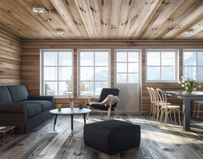 Sea and Mountain Cabins Part04_interiors