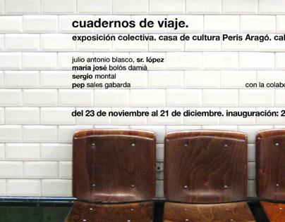 """Imagen Exposición """"Cuadernos de Viaje"""""""