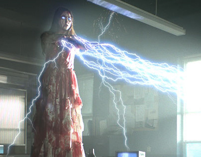 A Touch of Cloth - lightning VFX breakdown