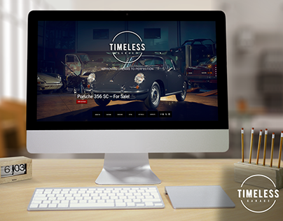 TIMELESS GARAGE - Website Development