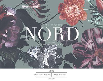 Nord, Luxury Dutch floral Patterns