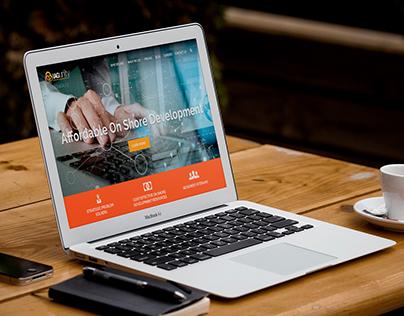 Web Design for Software Client