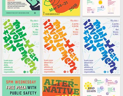 RISD Design Guild Posters