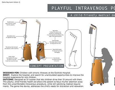 IV Pole for Children