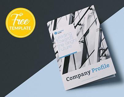Free Company Profile brochure template