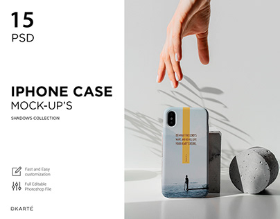 iPhone Case Mock-Up's
