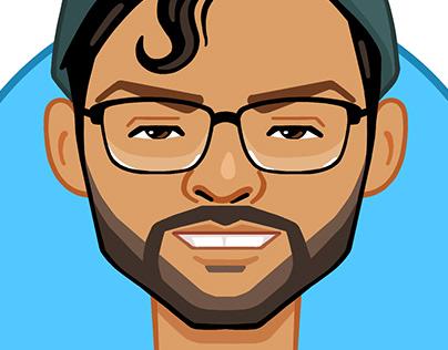Vector Portrait Mograph