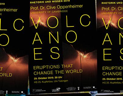 Volcanoes   Flyer, Banner, Poster